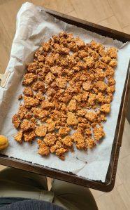 Double baked granola