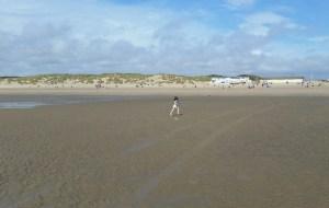 The Beach is Her Playground