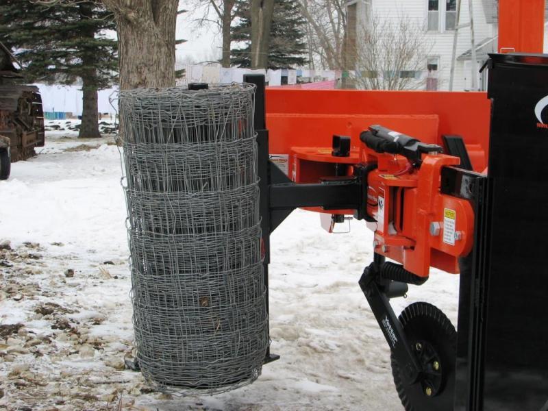 Skid Steer Wire Unroller