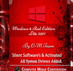 Windows 8 Red Edition Lite 2017 x86 (700MB) ! [Latest]