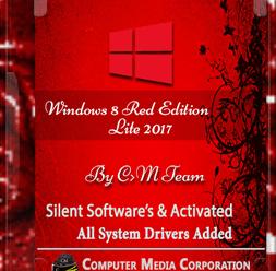Windows 8 Red Edition Lite 2017 x86 (700MB) ! [Latest]