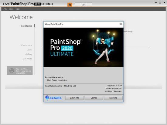 Corel PaintShop Pro 2020 Ultimate 22