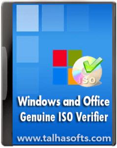 Windows and Office Genuine ISO Verifier 8 FUll