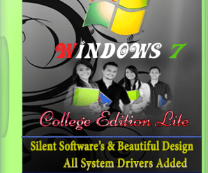 Windows 7 College Edition 2017 Lite x64 Bit [TalhaSofts]