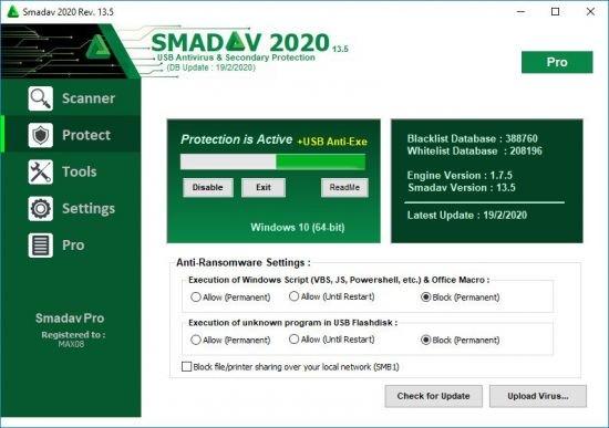 Smadav Pro 2020 v13.7