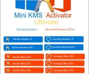 Mini KMS Activator Ultimate 1.5 2019[Latest!]
