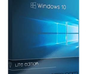 Windows 10 19H1 Lite Edition v9 Preactivated [x64] 2019 !