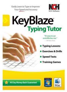NCH KeyBlaze Typing Tutor Plus 3 Full Version
