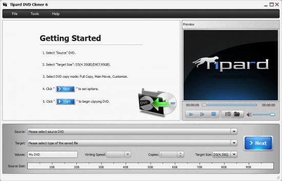 Tipard DVD Cloner 6.2 Full Version