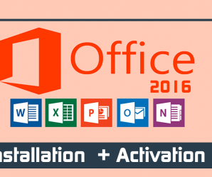 How To Install And Activate MS Office 2016 [Video Tutorial]