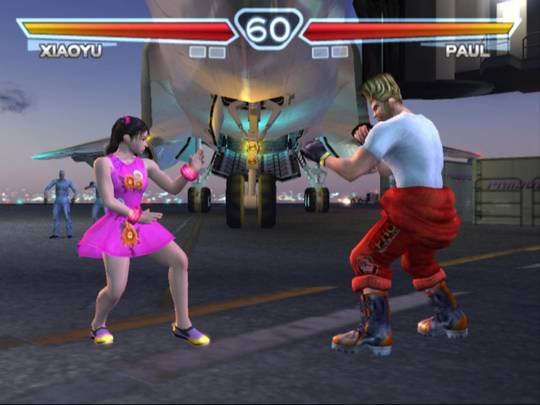 Tekken 4 Main Screen Preview