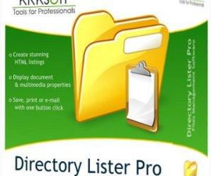 Directory Lister Pro 2.41 Enterprise + Crack !