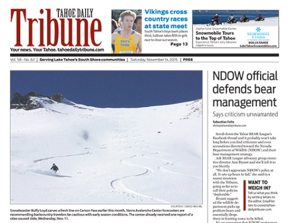 Talie Jane Interiors, Tahoe Daily Tribune