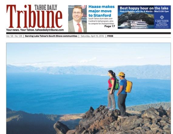 Tahoe Daily Tribune April 2015