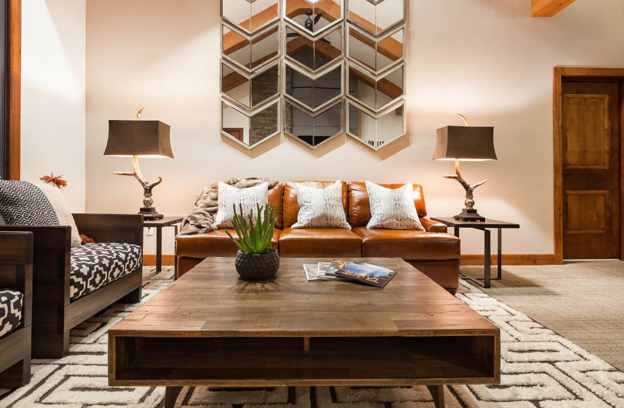 New Tahoe Condominium by Talie Jane Interiors