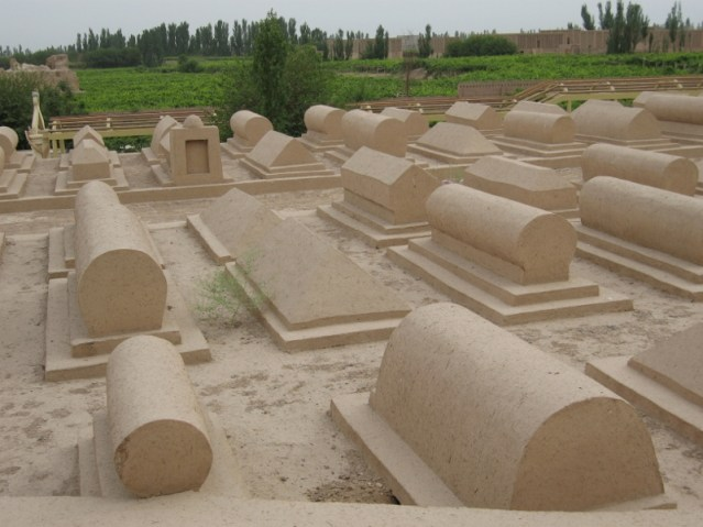 Adobe earth Graves.