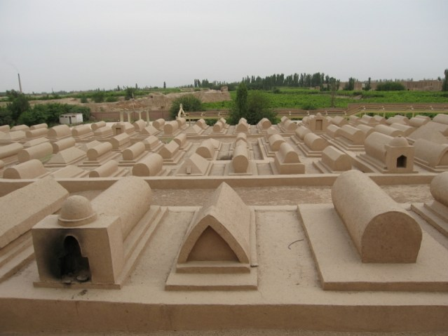 Adobe earth Graves
