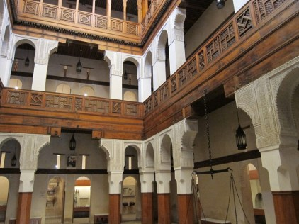 EXAMPLE OF A MOROCCAN RIAD