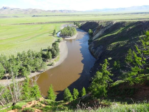 Arhon river mongolia