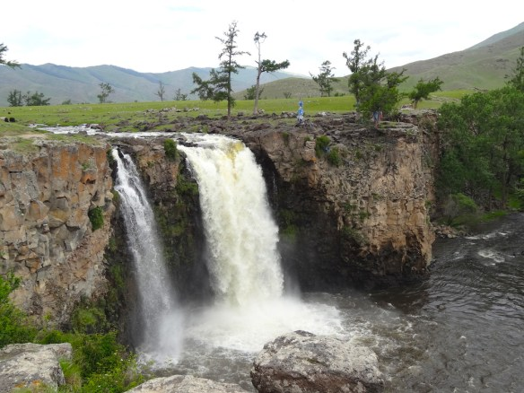 arhon waterfalls mongolia