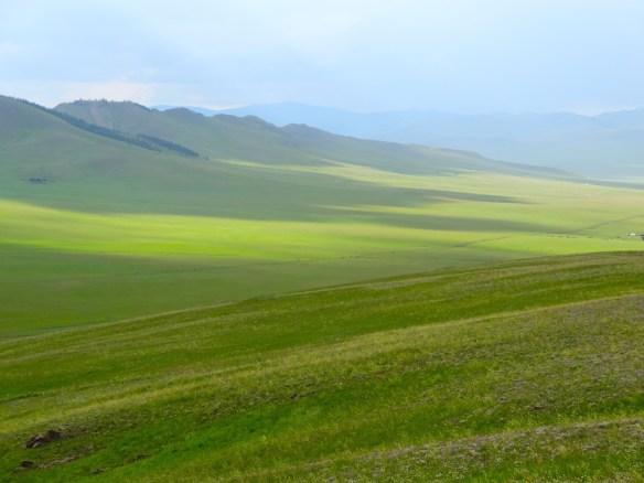 mongolian steppe landscape 1