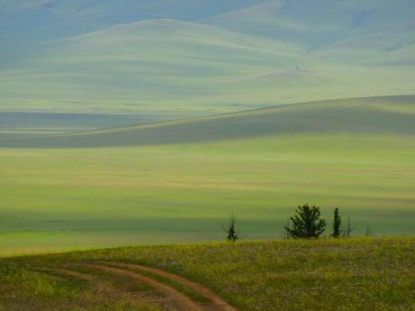 mongolian steppe landscape 4