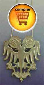 águila dos cabezas amuleto Roma