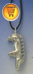 board silver pendant