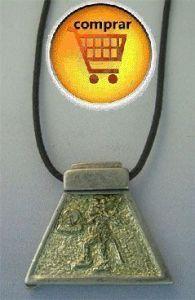 jaguar silver pendant aztec horoscpe zodiac