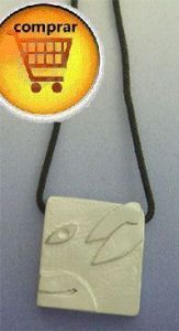 mayan seal kin dog silver pendant