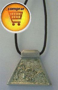 snake in aztec horoscope. Silver pendant