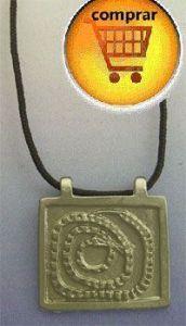 snake Gorrualla australian amulet silver pendant