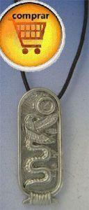 Wadjet silver pendant