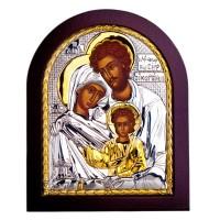 Икона Святое Семейство 13X11 см