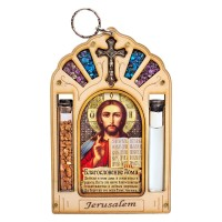 Оберег для дома с иконой Иисуса Христа Вседержителя