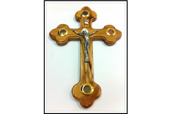 Крест из оливкового дерева со святынями Иерусалим