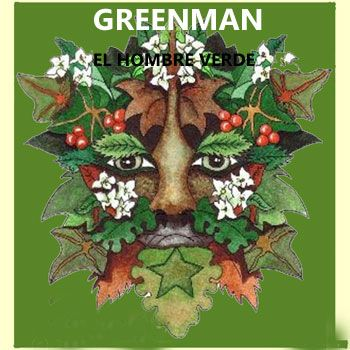 Greenman el hombre verde celta