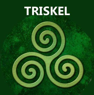 Talismanes Amuletos Y Símbolos El Trisquel Celta Significado