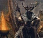 cernunnos in celtic festival