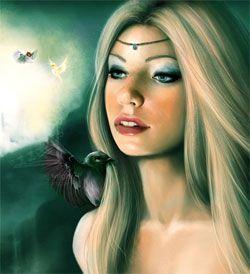 Cliodhna y sus pájaros mágicos