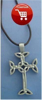 celtic cross of lendalfoot silver pendant