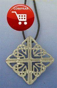 celtic knot Fionn, silver pendant