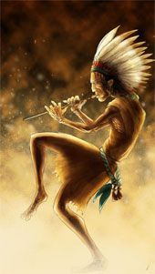kokopelli sagrado indios