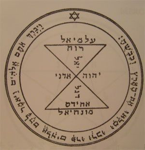 third pentacle talisman of Venus seal of Salomon