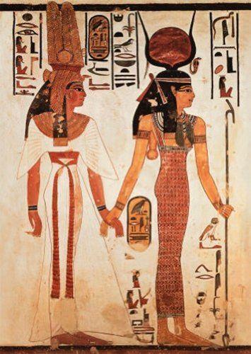 Nefertari con Isis