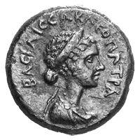 moneda de Cleopatra