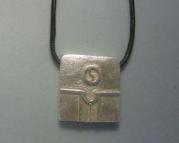 colgante sello maya semilla kin kan zodiaco maya