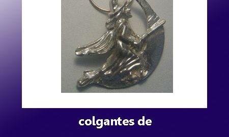 amuletos de brujas plata oro