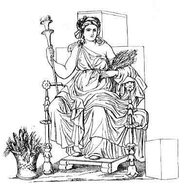 diosa Deméter