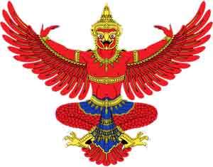 Garuda dios hindú águila